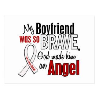 My Boyfriend Is An Angel Lung Cancer Postcard
