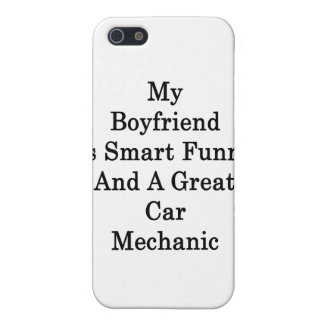 My Boyfriend Is Smart Funny And A Great Car Mechan iPhone 5/5S Cases