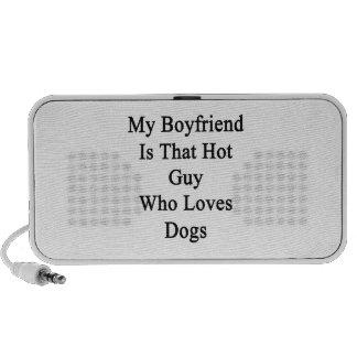 My Boyfriend Is That Hot Guy Who Loves Dogs Speaker