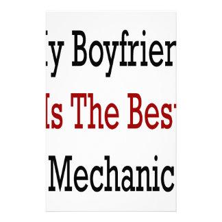 My Boyfriend Is The Best Mechanic Customized Stationery