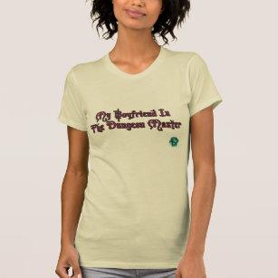 My Boyfriend Is The Dungeon Master Beige Female T-Shirt