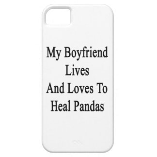 My Boyfriend Lives And Loves To Heal Pandas iPhone 5 Case