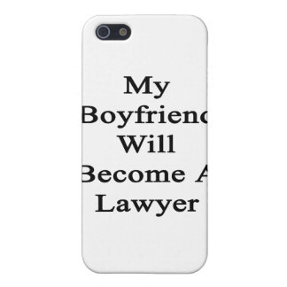 My Boyfriend Will Become A Lawyer iPhone 5 Cases