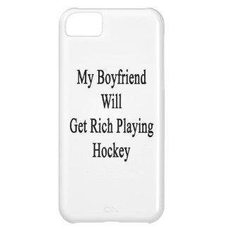 My Boyfriend Will Get Rich Playing Hockey iPhone 5C Cases