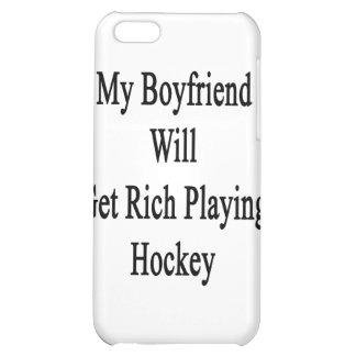 My Boyfriend Will Get Rich Playing Hockey iPhone 5C Cover