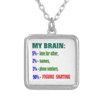 My Brain 90 % Figure Skating. Pendant