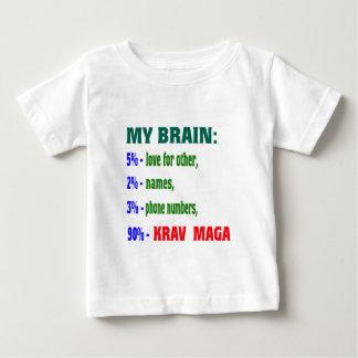 My Brain 90 % Krav Maga. Shirt
