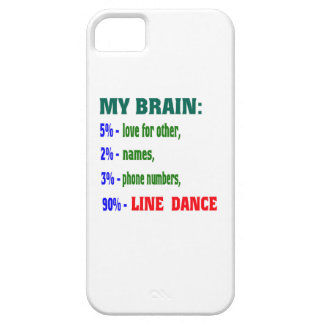 My brain 90% Line dance iPhone 5 Cover