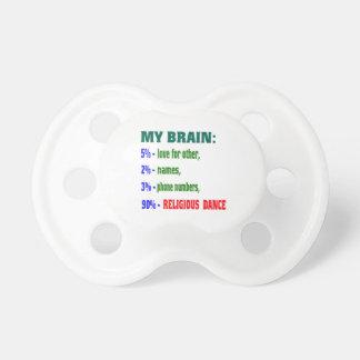 My brain 90% Religious dance BooginHead Pacifier