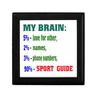 My Brain 90 % Sport Guide. Jewelry Box
