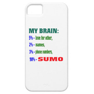 My Brain 90 % Sumo. Cover For iPhone 5/5S