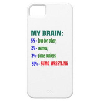 My Brain 90 % Sumo Wrestling. iPhone 5 Cases