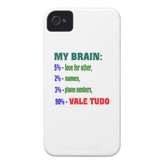 My Brain 90 % Vale Tudo. iPhone 4 Case