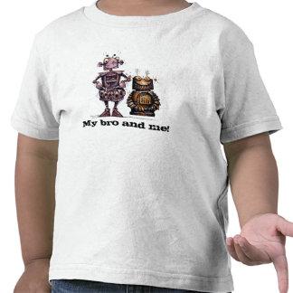 My Bro and Me Funny Robots T-shirt
