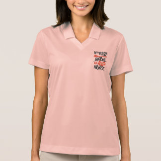 My Broom Broke So I Became a Nurse Polo Shirt