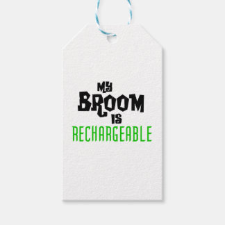 My Broom is Rechargeable