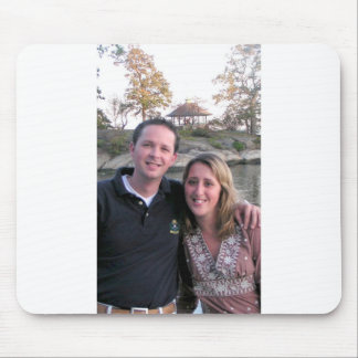 MY BROTHER AND NEW SISTER IN LAW MOUSE MAT
