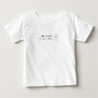 """""""my brother is a"""" - more dog breeds available shirts"""
