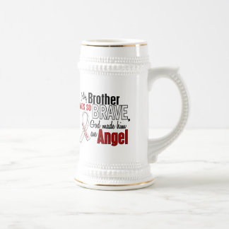 My Brother Is An Angel Lung Cancer Coffee Mugs