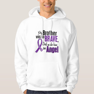 My Brother Is An Angel Pancreatic Cancer Hoodie