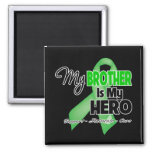 My Brother is My Hero - Kidney Cancer Fridge Magnets