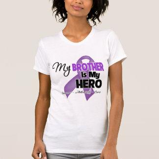 My Brother is My Hero - Purple Ribbon Tee Shirt