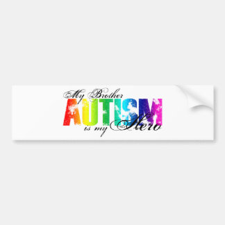 My Brother My Hero - Autism Bumper Sticker