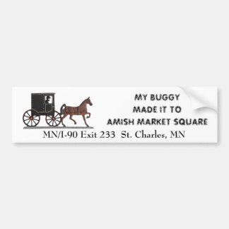 My Buggy Bumper Sticker