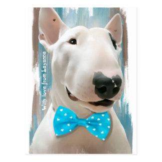 My  Bull Terrier Postcard