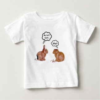 My Butt Hurts Bunnies Infants T-Shirt