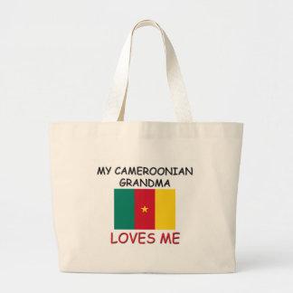 My Cameroonian Grandma Loves Me Jumbo Tote Bag