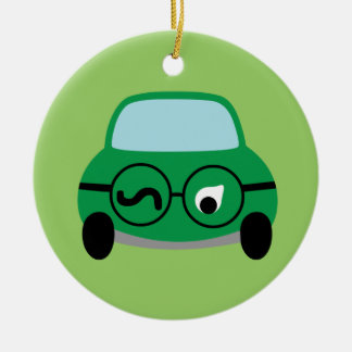 My Car Is Smart Christmas Ornament