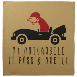 My Car Napkin