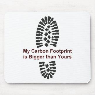 My Carbon Footprint Mouse Mat