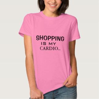 My Cardio Workout| SHOPPING IS MY CARDIO Tee Shirts