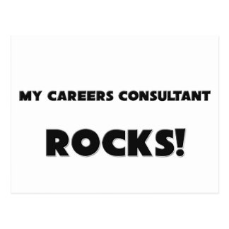 MY Careers Consultant ROCKS! Postcard