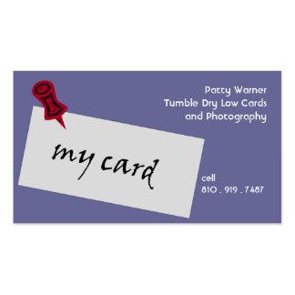 My Carrd business card
