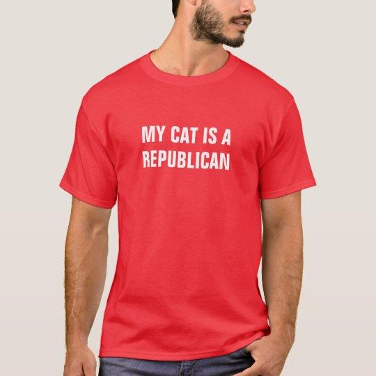 My Cat Is A Republican T-Shirt