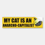 My Cat Is An Anarcho-Capitalist Bumper Sticker