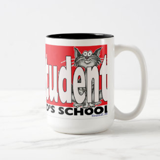 My Cat is an Honour Student at your school mug