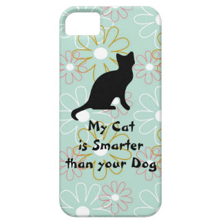 My Cat is Smarter than Your Dog iPhone Case iPhone 5 Cover
