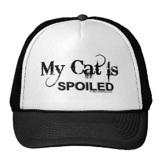 My Cat Is Spoiled Hats