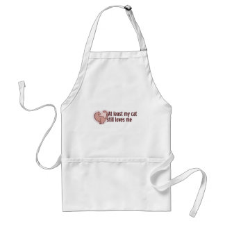 My Cat Loves Me Standard Apron
