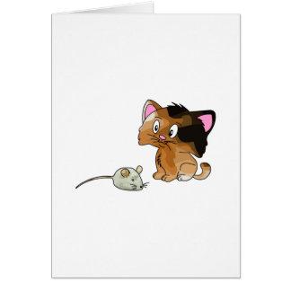 My Cat Loves Mice Cards