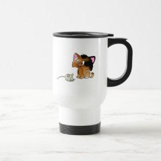 My Cat Loves Mice Stainless Steel Travel Mug