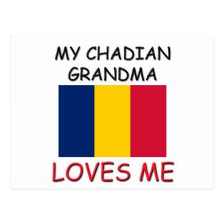My Chadian Grandma Loves Me Postcards