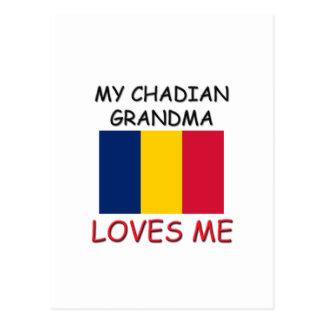 My Chadian Grandma Loves Me Postcard