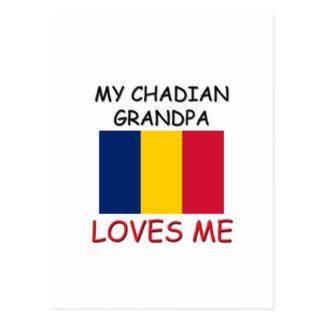My Chadian Grandpa Loves Me Postcard
