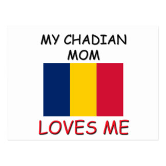 My Chadian Mom Loves Me Post Card