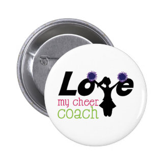 My Cheer Coach 6 Cm Round Badge